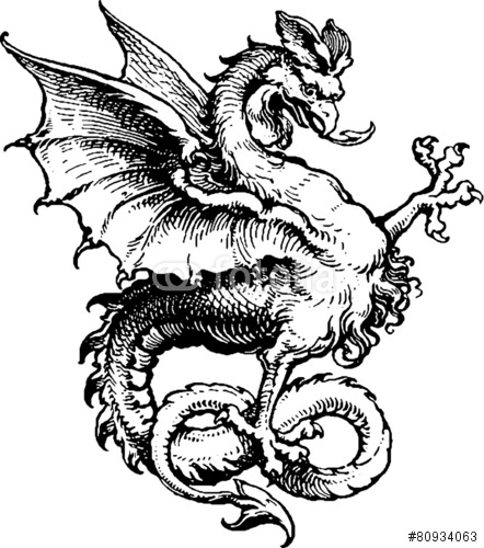 the rpgpundit medieval monsters in my upcoming quotlion