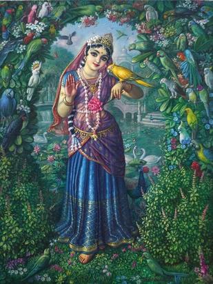 Goddess-Tulasi